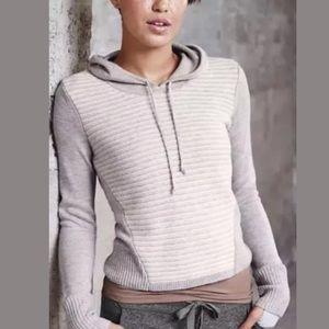 ATHLETA Merino Noe Hoodie Sweater NWOT Heather